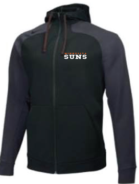 Picture of  Suns NIKE HYPERSPEED FLEECE FULL ZIP HOODIE (1)