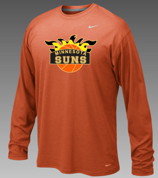 Picture of Suns Nike LEGEND L/S POLY TOP