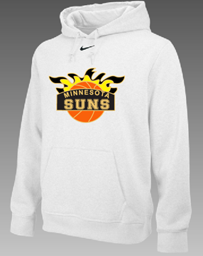 Picture of  Suns NIKE TEAM CLUB FLEECE HOODY